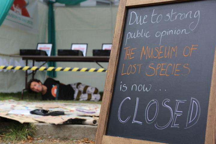 close the museum