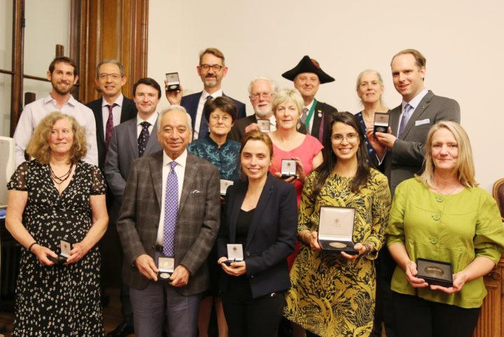 Anniversary meeting medal winners