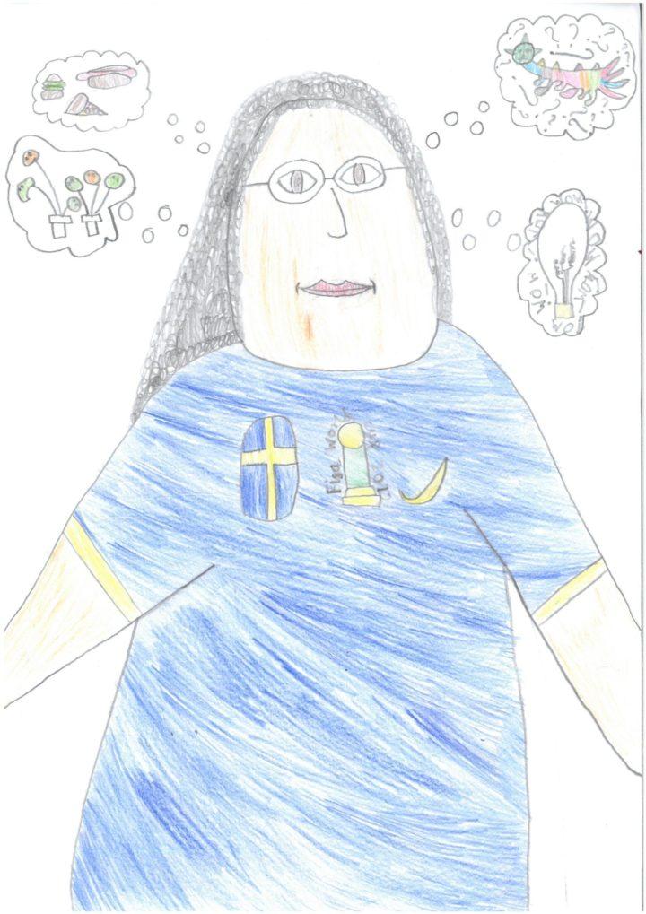 A runner up portrait for the 2019 Linnaeus' New Portrait Competition