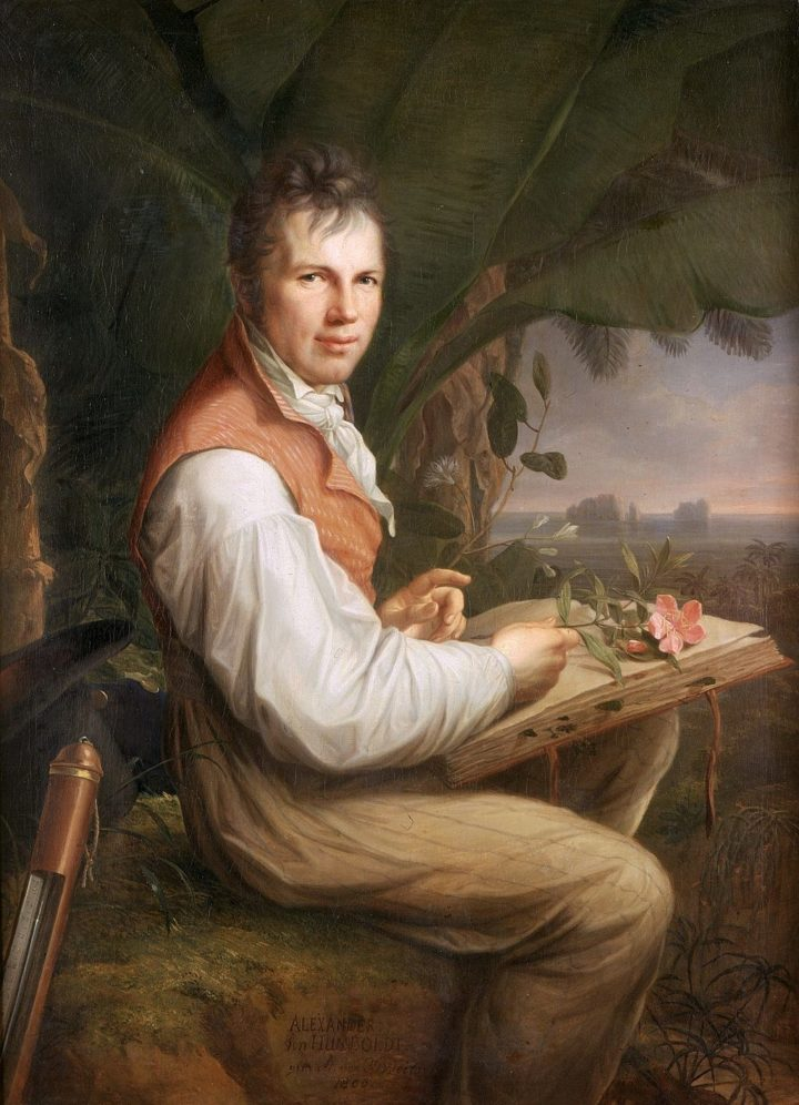 Alexander von Humboldt young