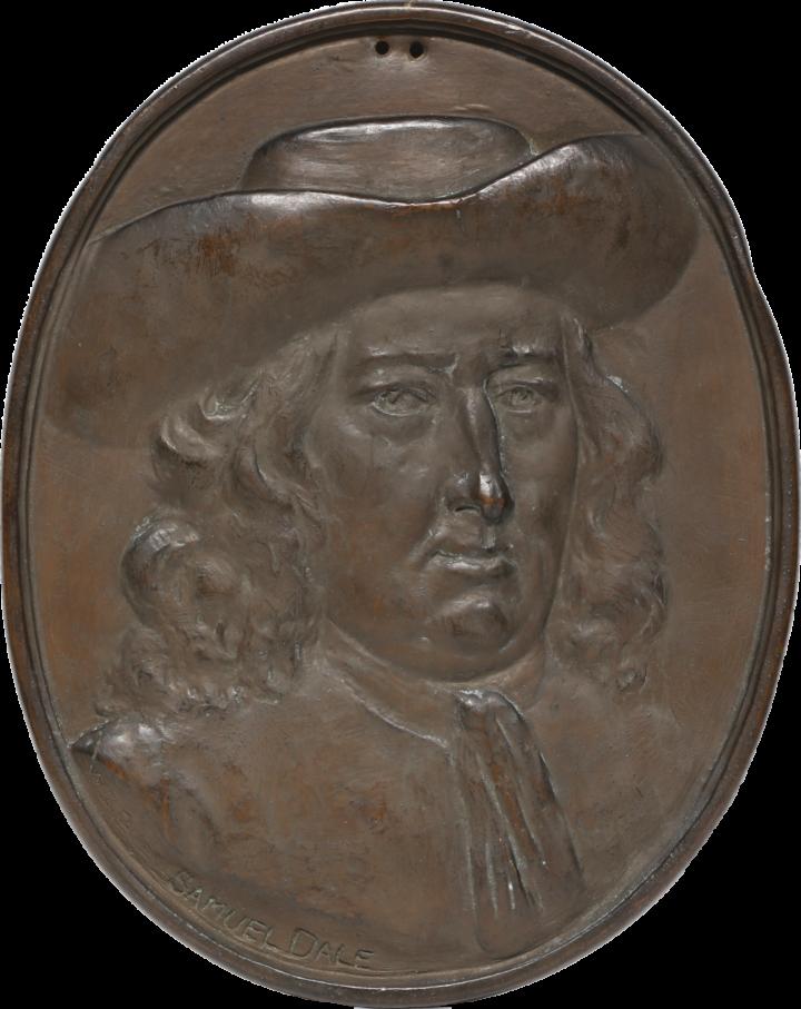 Samuel Dale medallion