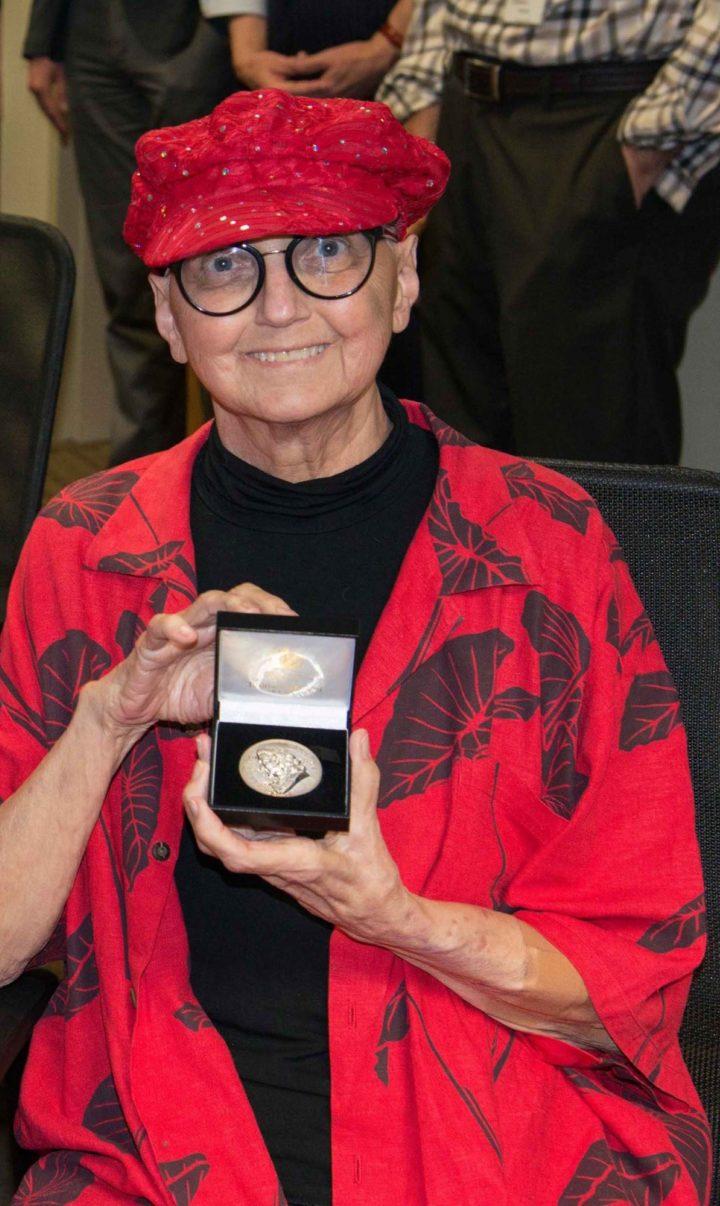 Dr Vicki Funk, Medal winner 2019