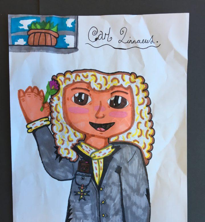 A runner up portrait for the Linnaeus' New Portrait Competition