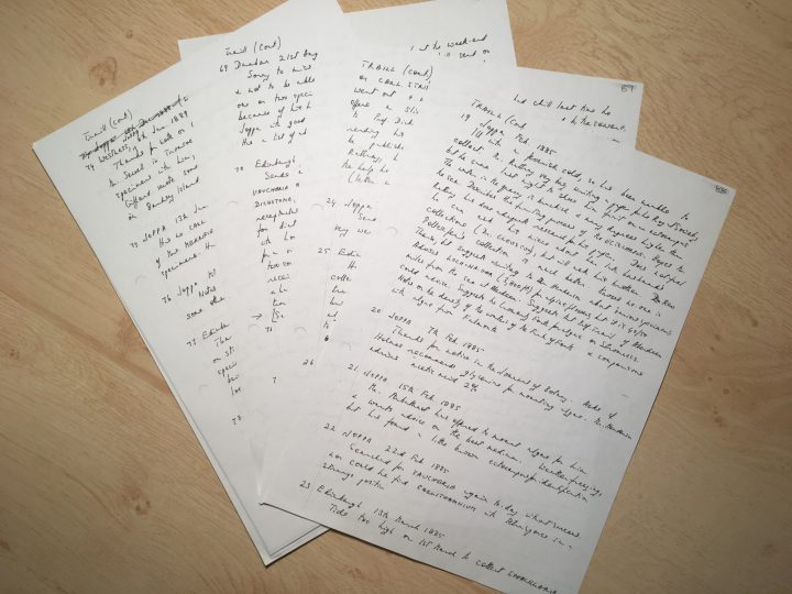 Letters by Holmes