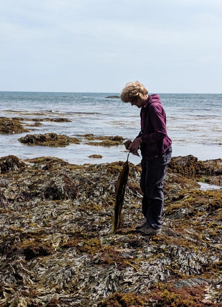 Jane with Kelp
