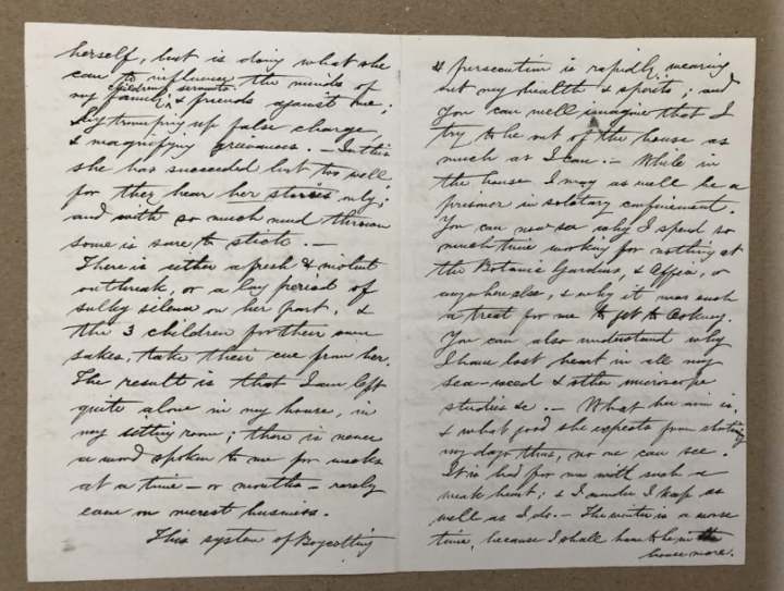 Traill's letter