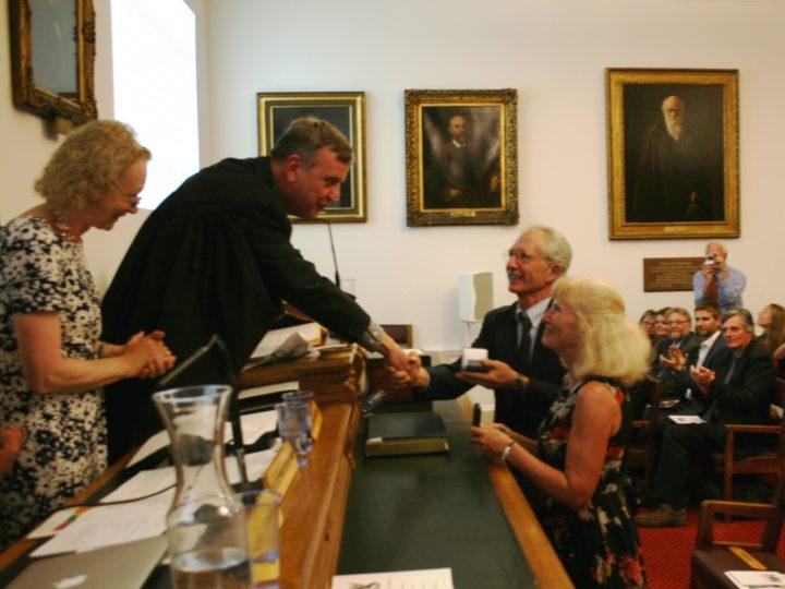 Pamela and Douglas Soltis Medal 2016