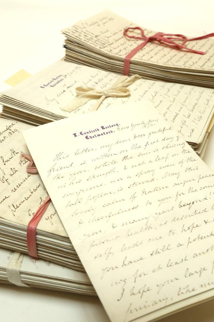 Pleasance correspondence