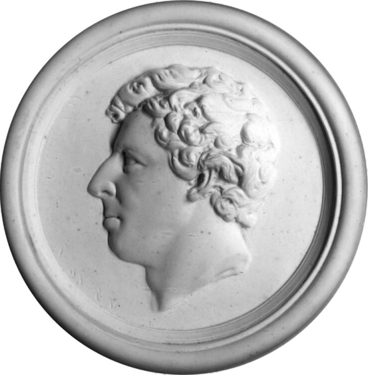James Clark Ross medallion c. NPG