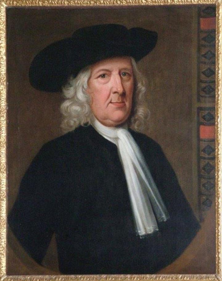 Samuel Dale oil painting