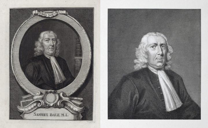 Etchings of Samuel Dale (NPG and Linnean Society)
