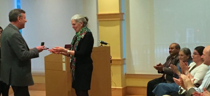 Sandy Knapp Linnean Medal 2016