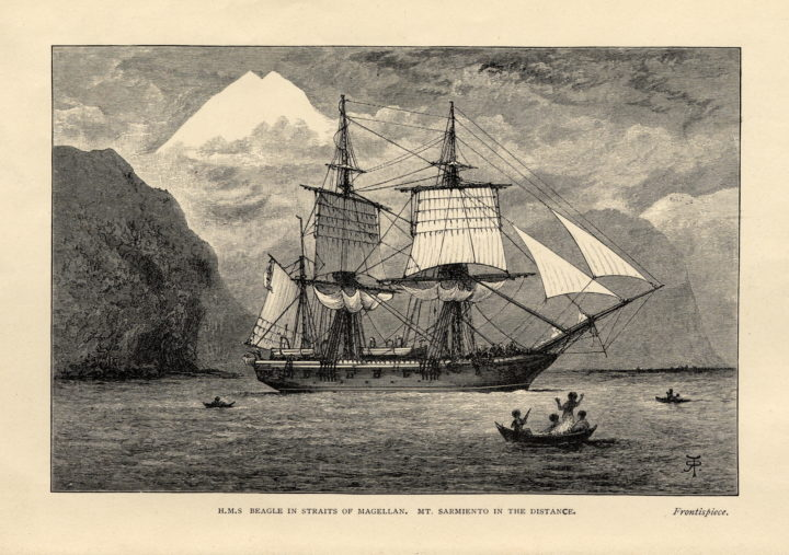 The Voyage of HMS Beagle 1890