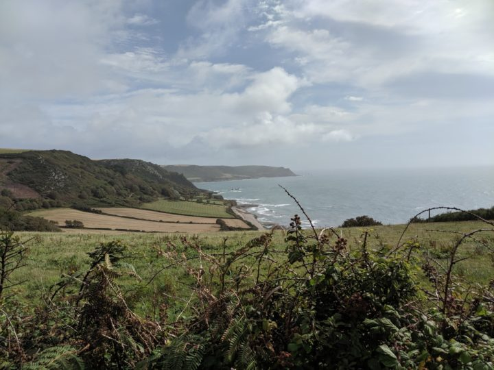 View of Lannacombe Bay