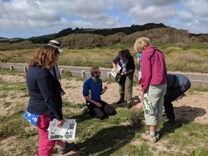 learning about coastal vegetation