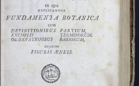 'Philosophia botanica' at 270