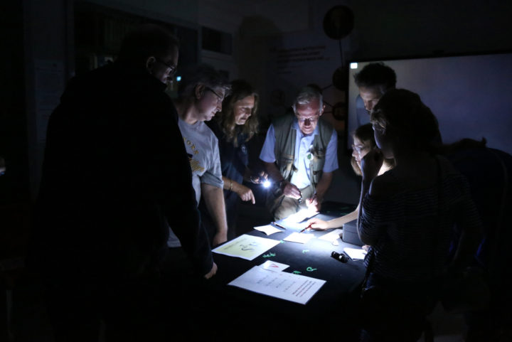 Escape room for the 2019 Courtyard Lates Event