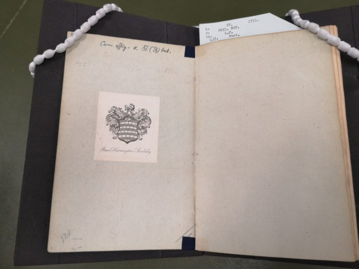 NHM copy of Phil Bot with Soulsby bookplate