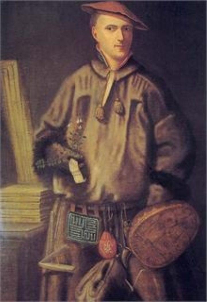 Linnaeus in Lapland costume