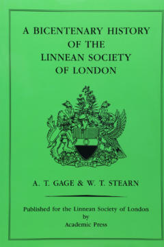A Bicentenary History of the Linnean Society of London