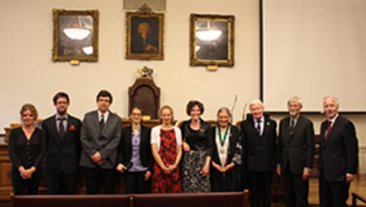 congratulate all of the medal and award winners.