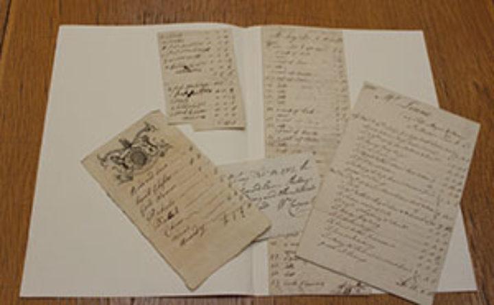 Linnaeus the Younger's manuscripts