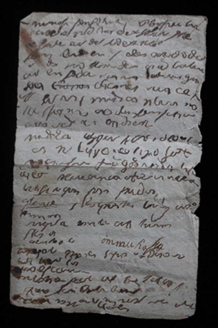 undecipherable handwriting