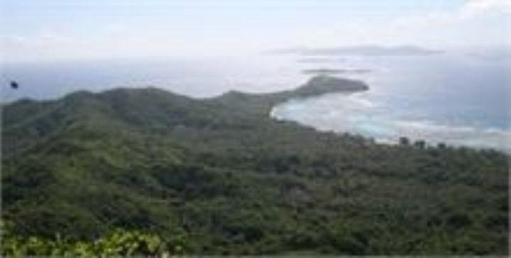 some islands where very few or no butterflies were seen