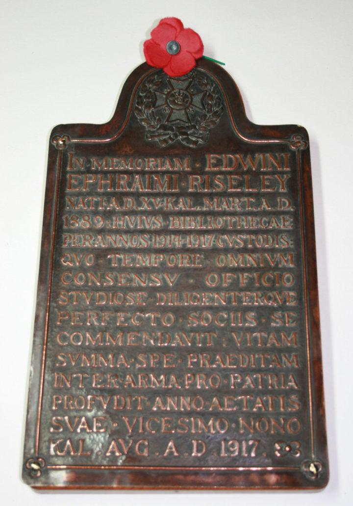 Edwin Ephraim Riseley
